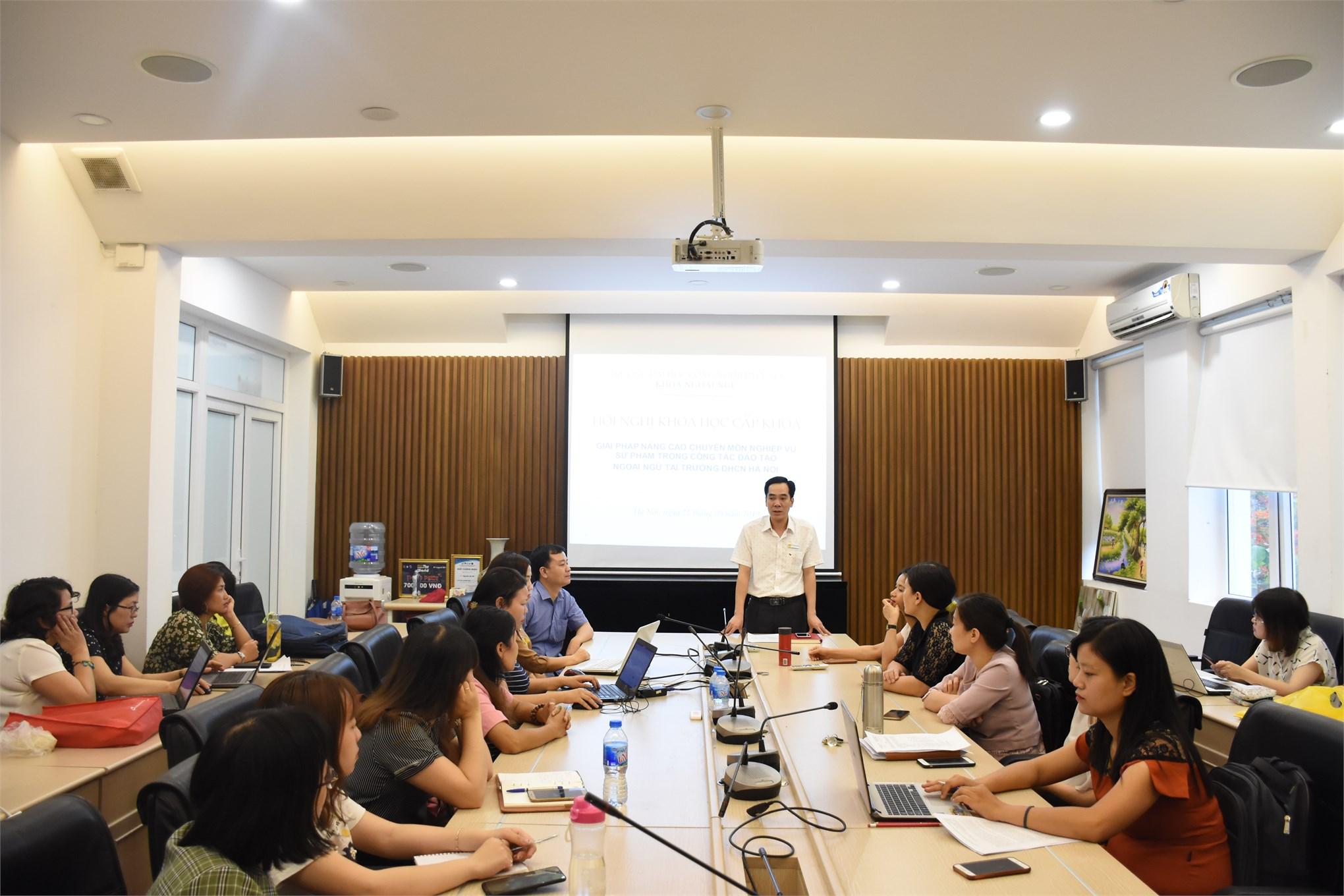 Hội nghị Khoa học cấp Khoa 2019