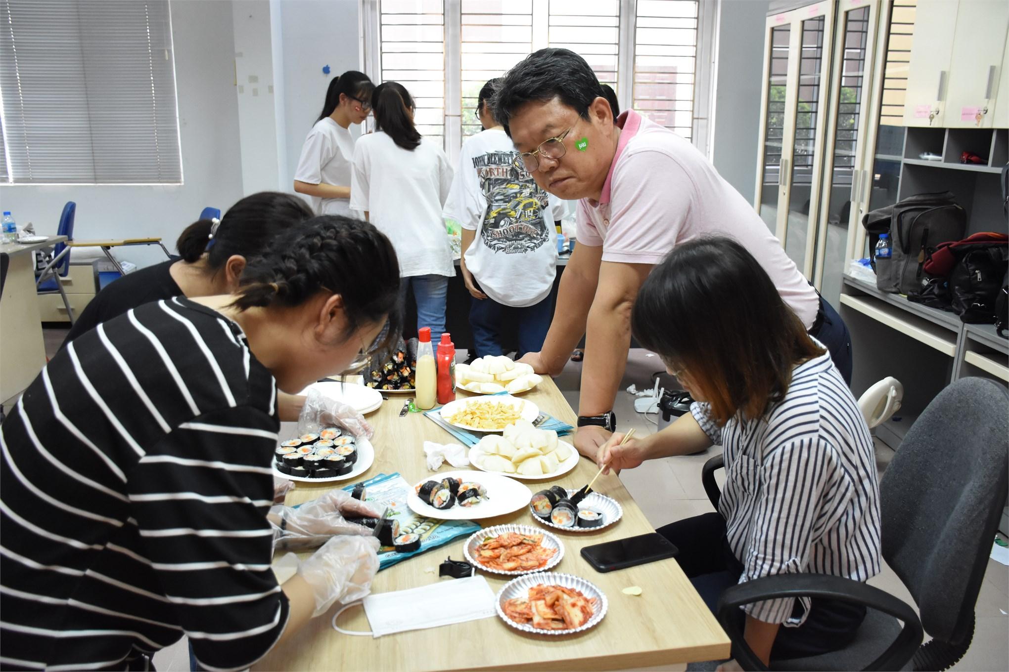 GIao lưu văn hóa Hàn Quốc