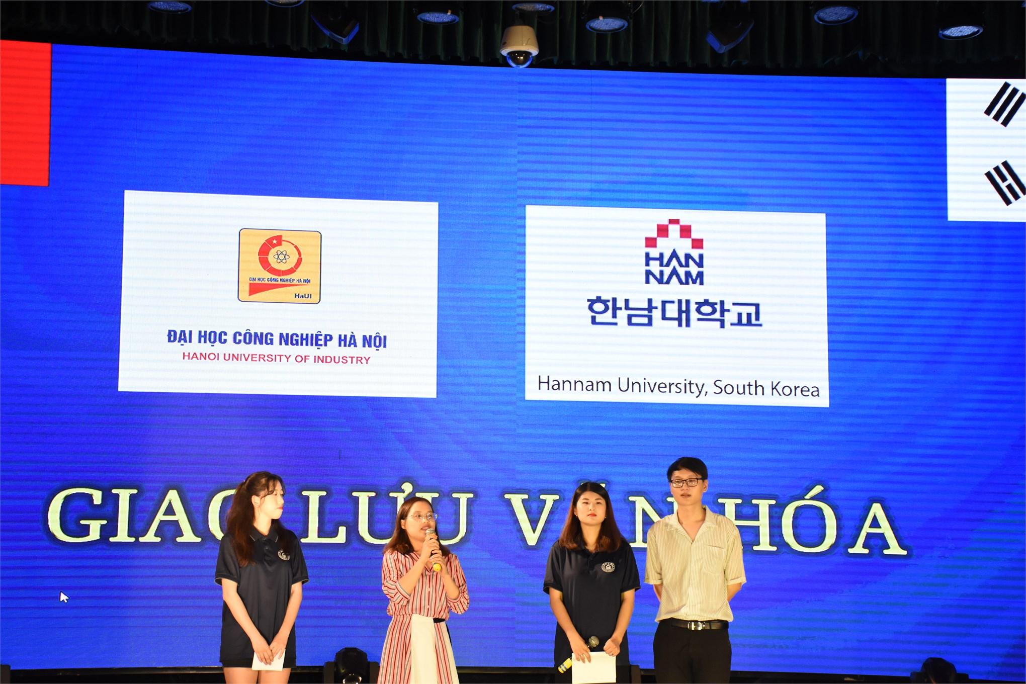 Đêm giao lưu văn hóa Hàn Quốc cùng Đại học Hannam