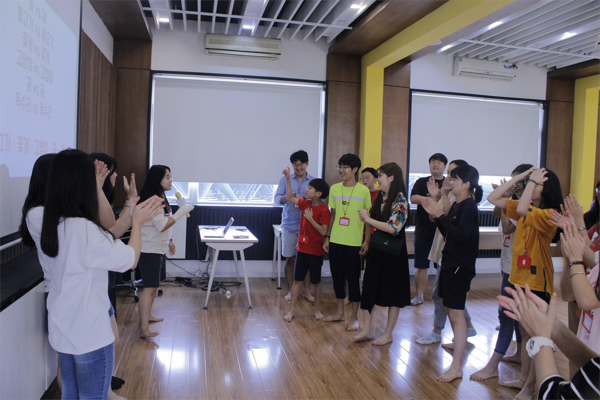 GIao lưu văn hóa Hàn Quốc cùng sinh viên Đại học Ajou