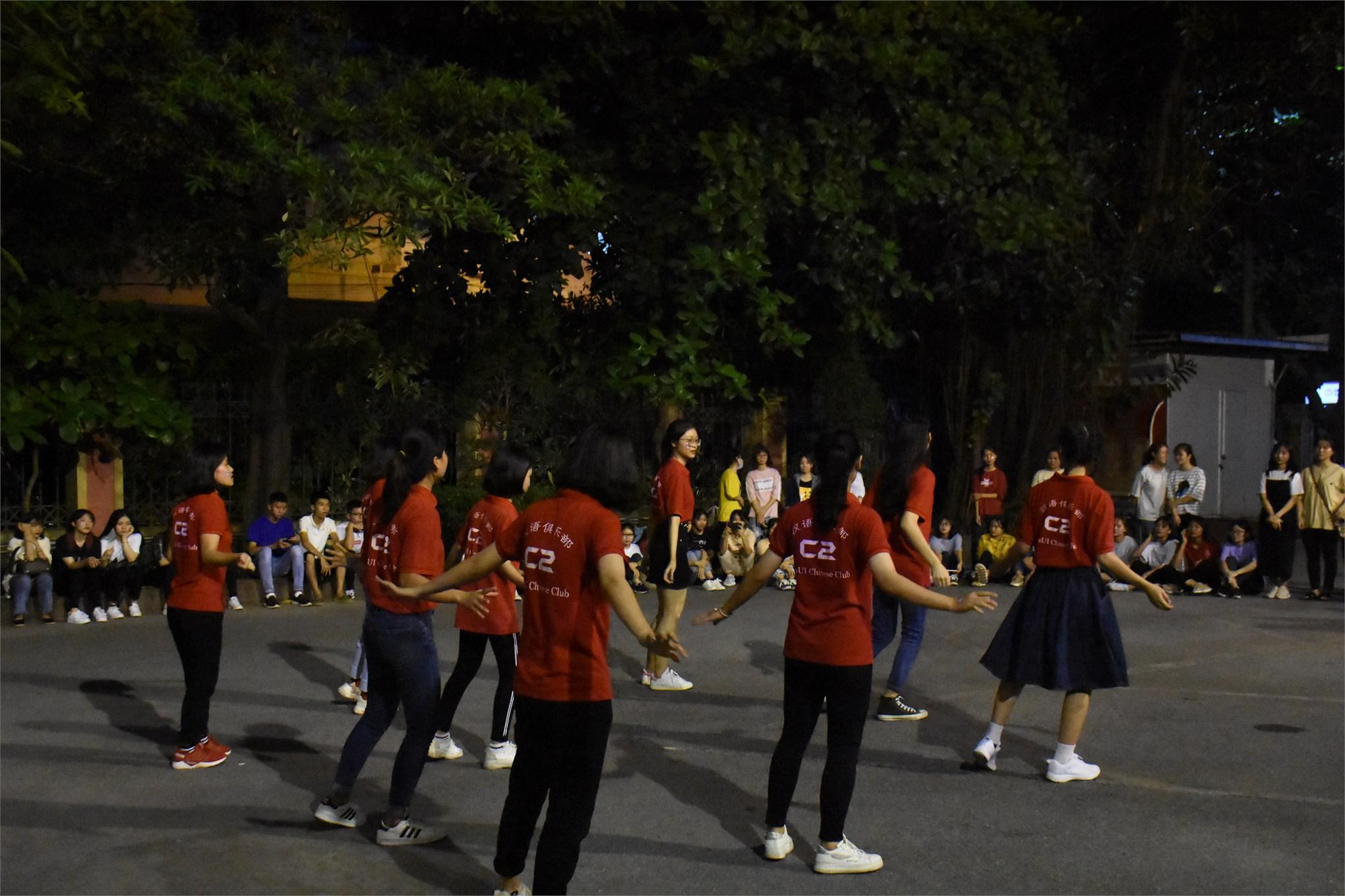 Offline chào tân thành viên và kỉ niệm 2 năm thành lập Câu lạc bộ tiếng Trung C2 - Haui