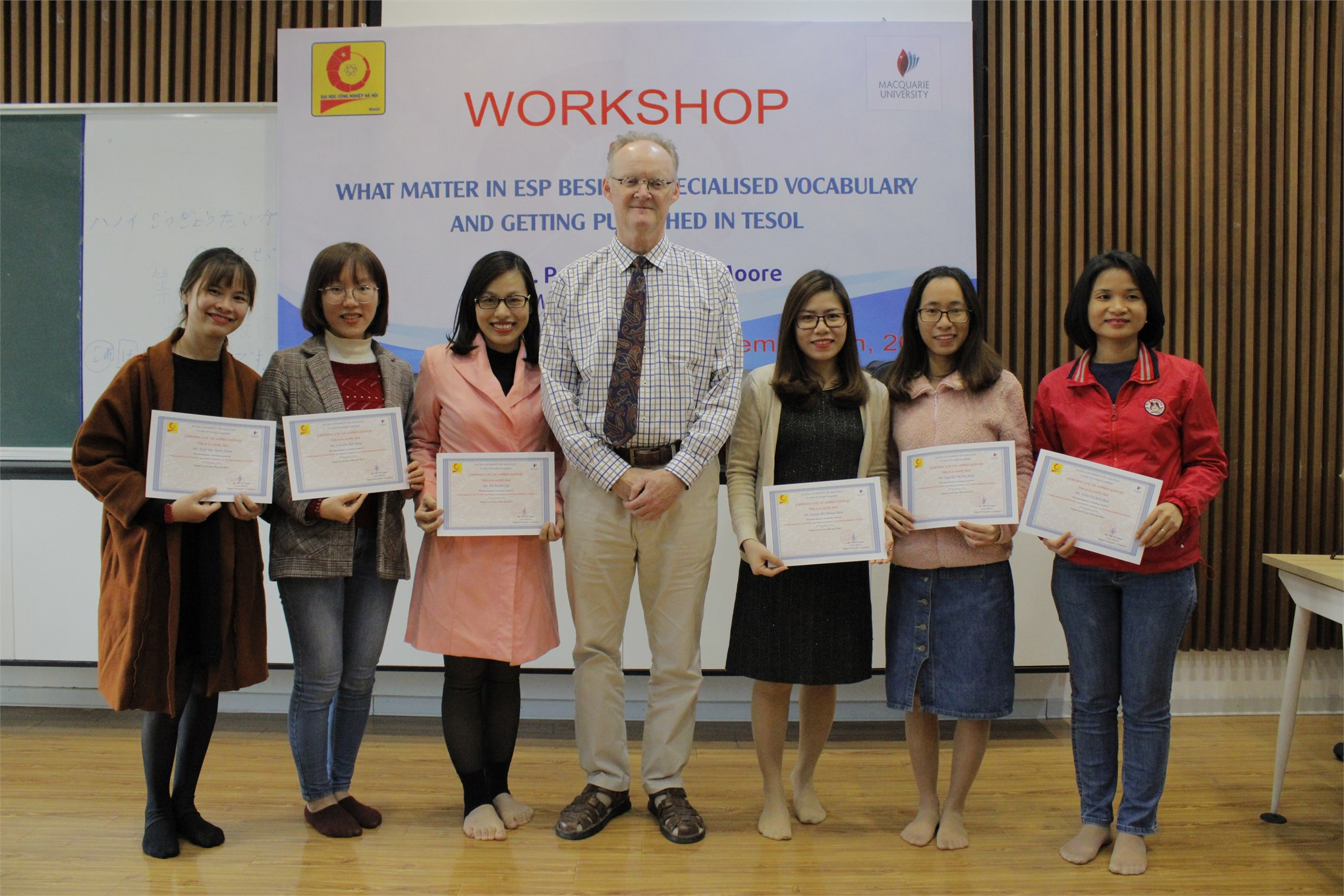 """""""What matters in ESP besides specialized vocabulary & Getting published in TESOL"""