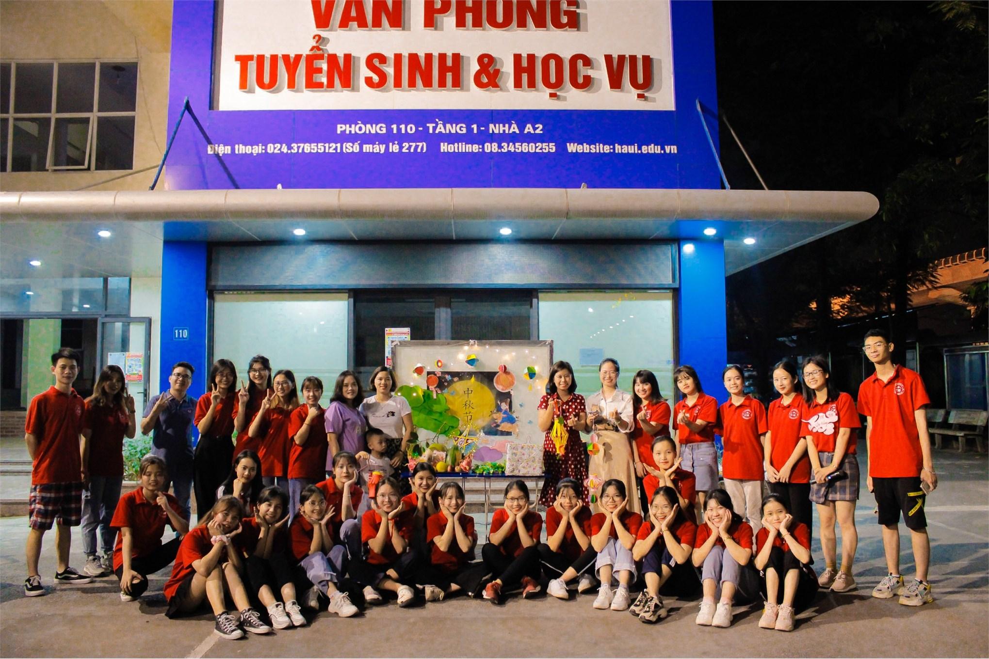 Cùng Câu lạc bộ tiếng Trung C2 - HaUI đón tết Trung thu