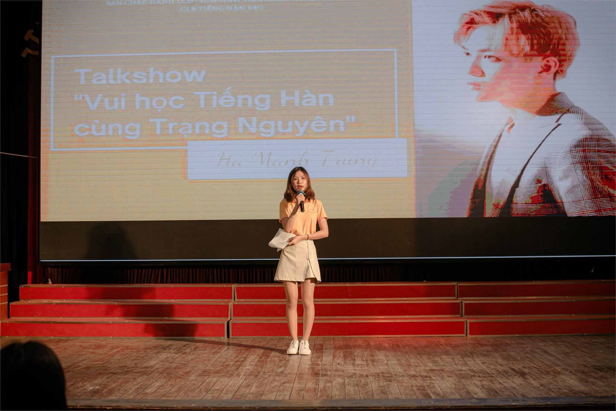 Talkshow `Vui học tiếng Hàn cùng Trạng Nguyên`
