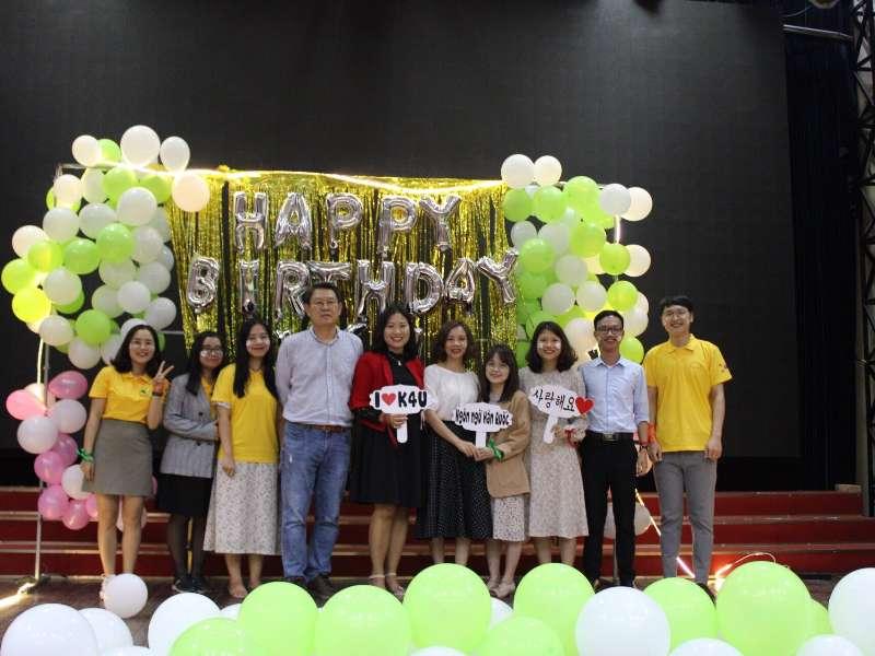 Câu lạc bộ Tiếng Hàn Quốc K4U - HaUI kỷ niệm sinh nhật 2 năm tuổi