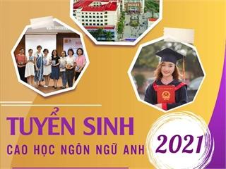 Trường Đại học Công nghiệp Hà Nội tuyển sinh Thạc sĩ Ngôn ngữ Anh năm 2021
